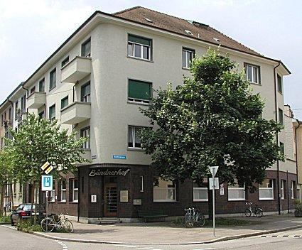 Bündnerhof,  Näfelserstrasse 12,  Basel